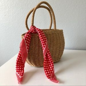 Unlisted Bags - NWT Straw Handbag